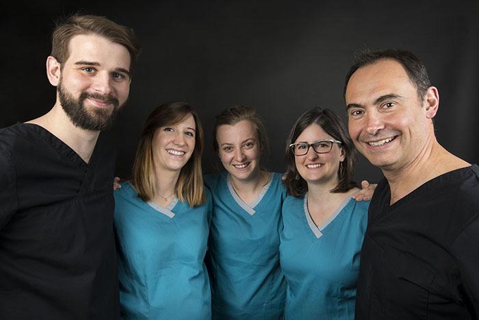 Chirurgiens Dentistes Olivier Morin, Emmanuelle Courtonne, Elisabeth Maury, Maxime Loustau et Maëlle Vernier