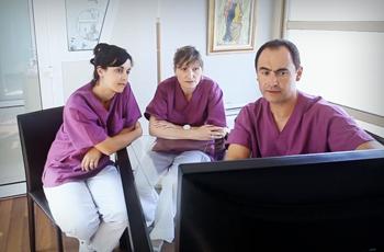L'équipe du docteur Morin